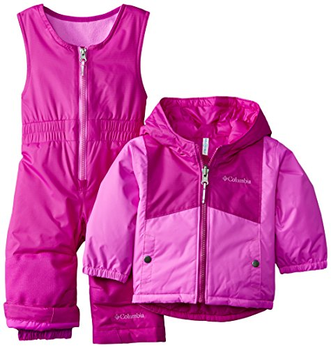 35807deda Columbia Baby Girls  Double Flake Reversible Set