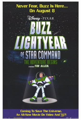 - Buzz Lightyear of Star Command: The Adventure Begins Poster 27x40