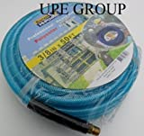 3/8'' x 50 ft AIR COMPRESSOR HOSE 350 psi 1/4'' fittings air tools ROOFING NAIL GUN POLYESTER