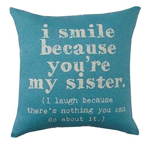 Throw Pillow Sister (Brentwood Originals 8022