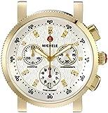 MICHELE Women's MW01N00A9980 Sport Sail 18 Analog Display Swiss Quartz Gold Watch Head