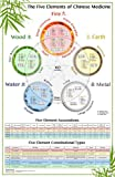 The Five Elements of Chinese Medicine, Miridia Technology Inc., 0989869628