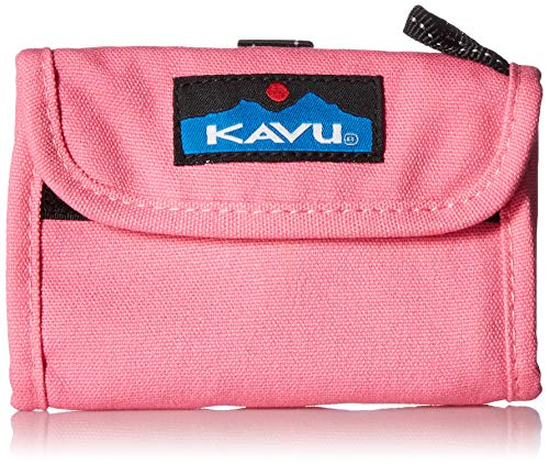 KAVU Women's Wally Wallet, Pink Crush, No Size