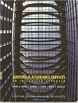 auditing and assurance services an integrated Auditing assurance services integrated approach 14th edition test bank auditing and assurance services: an integrated approach managing human resources 16th.