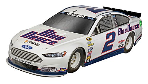 Revell SnapTite MAX NASCAR #2 Brad Keselowski Blue Deuce Fod Fussion Model Kit (Level 2 Model Kit)