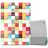 Infiland iPad Air Case - Ultra Slim Smart Stand Cover Case with Translucent Frosted Back Protector (with Auto Wake / Sleep) for Apple iPad Air / iPad 5 2013 Released 9.7 Inch Tablet, Color Diamond