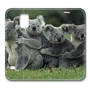 Koala 011 Flip Leather Cover for Samsung Galaxy S5 i9600