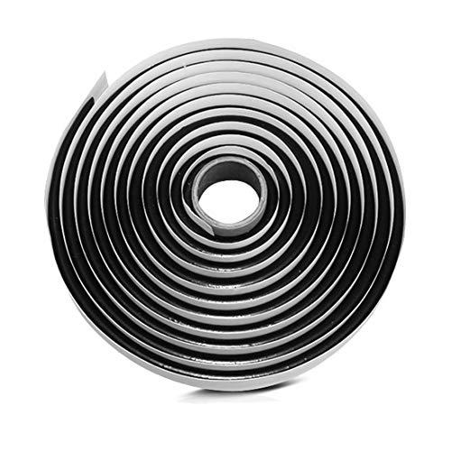 Yunpo Butyl Sealant Tape 4M/13Ft Waterproof Butyl Rubber Sealant for Car Headlamps Window Door Windshield Butyl Tape Black (Headlamp Glue)
