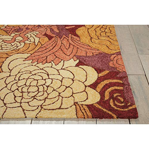 71f55e1d8760d6 Amazon.com  Nourison South Beach (SOU07) Spice Rectangle Area Rug