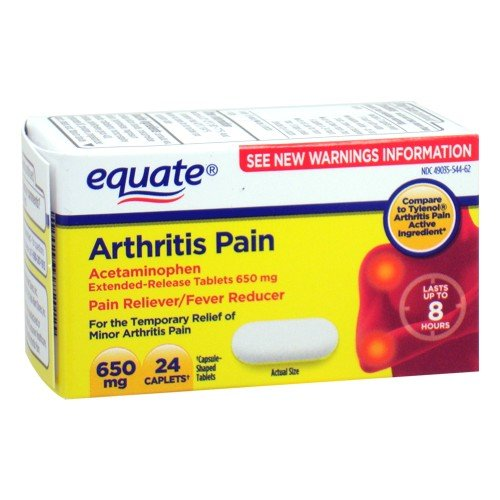 Equate - Arthritis Pain Reliever, Extended Release, Acetamin