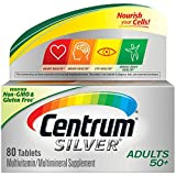 Centrum Silver Adult Multivitamin/Multimineral Supplement Tablet, Vitamin D3, Age 50+