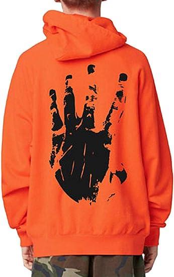 Lukitty Unisex Hoodie Xxxtentacion Graphic Printed Hooded Sweatshirt Jacket Top