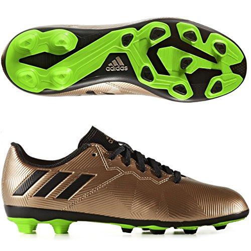 Adidas messi 16.4FXG J Chaussures de football ligne messipara enfants, bronze–(cobmet/negbas/versol), -28