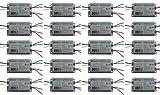 ROBERTSON 1P20128 OEM-Pak of 20 Fluorescent eBallast, 1 CFQ26W/G24q CFL Lamp, Preheat-Rapid Start, 120Vac, 50-60Hz, Normal Ballast Factor, NPF, Model RSO126CQ120 AA (Replaces Model RSO126CQ120 /A)