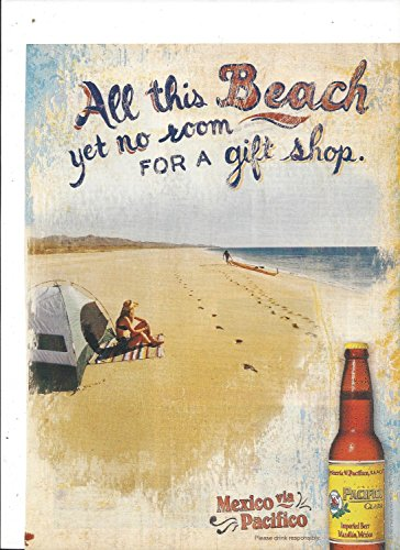 magazine-paper-advertisement-for-2006-pacifico-beer-all-this-beach-large-ad