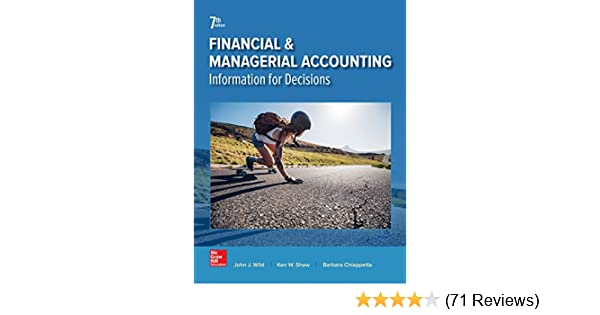 financial and managerial accounting 7th edition wild pdf download
