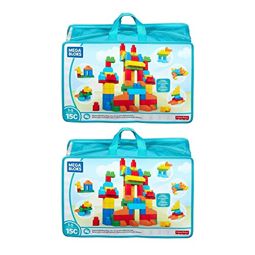 MEGA BLOKS FIRST BUILDERS 150 Piece Deluxe-2 Pack by Mega Brands 1