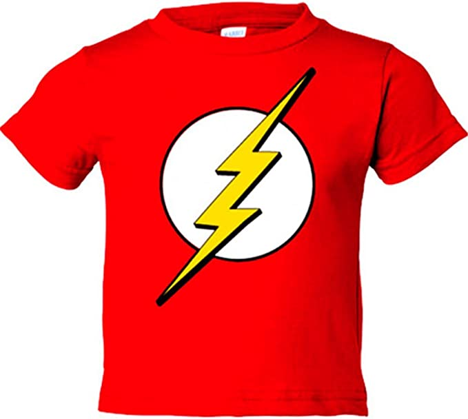 Camiseta The Flash logo: Amazon.es: Bebé