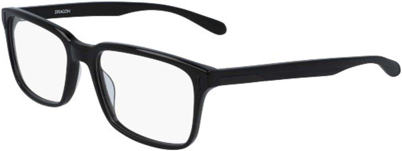 Eyeglasses DRAGON DR 123 BLAKE 001 SHINY BLACK
