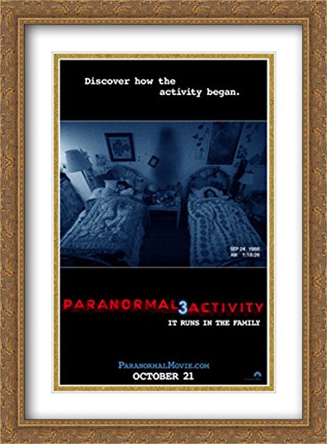 Paranormal Activity 3 28x38 Double Matted Large Large Gold Ornate Framed Movie Poster Art Print by ArtDirect