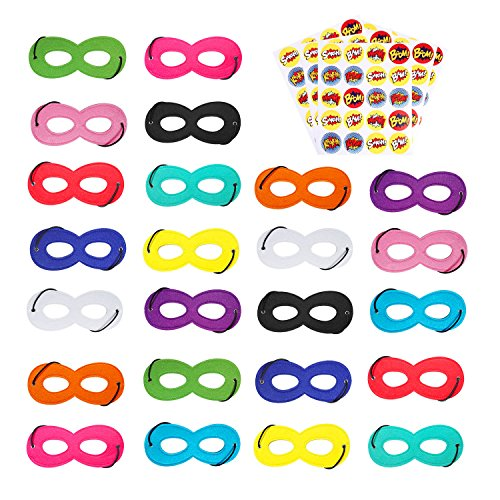 AIMIKE Superhero Masks, Cosplay Party Favors,