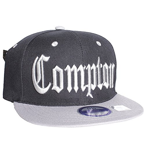 0fefaa5cfbf Compton Flat Bill Visor California Republic Adjustable Snapback