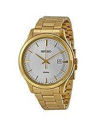 Seiko Men's SUR054 Gold Stainless-Steel Quartz Watch