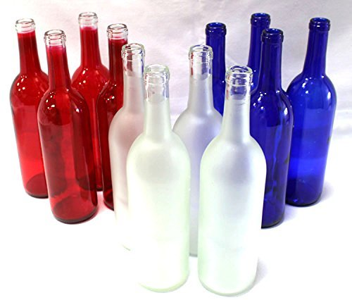 Home Brew Ohio Multi-Colored Bottles For Bottle Trees-Elite Variety, Multicolor
