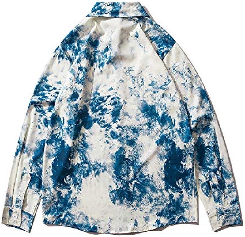Haori kurtka męska, kimono, kardigan, męski, japoński kimono, kardigan - chiński szlafrok kardigan w stylu chińskim - wiosna/jesień, Flower-USXL/Tag2XL: Küche & Haushalt