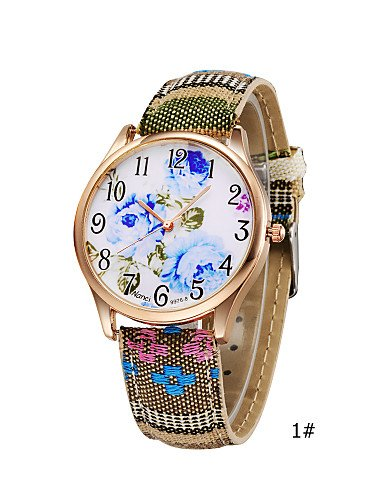 XM Reloj para mujer exótica Cinta de tela de color azul camuflaje Reloj de  pulsera con cuarzo único de colores brillantes  Amazon.es  Relojes 20458249a3c3