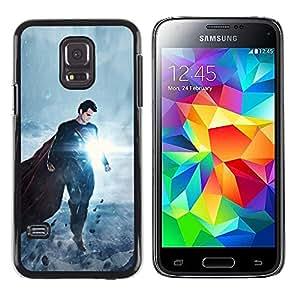 TaiTech / Prima Delgada SLIM Casa Carcasa Funda Case Bandera Cover Armor Shell PC / Aliminium - Superm2n Glow - Samsung Galaxy S5 Mini, SM-G800