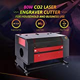 OMTech 80W CO2 Laser Engraver Cutter with 28 x 20in