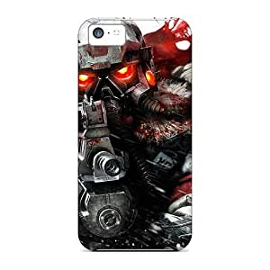 New Cute Funny Bloody Soldier Case Cover/ Iphone 5c Case Cover