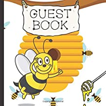 Guest Book: Bumble Bee Baby Shower Guest Book Includes Gift Tracker and Memory Picture Section to Create a Lasting Keepsake to Remember Forever