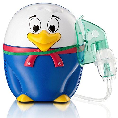 Happy Duck Inhaliergerät Kinder Inhalator Inhalation Aerosol Vernebler Kompressor Vogel