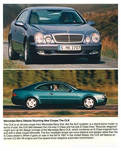 1998 Mercedes Benz CLK Coupe Automobile Photo (Clk Coupe)
