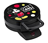 Disney DCM-32 Mickey Mouse Waffle Maker, Black Deal (Small Image)