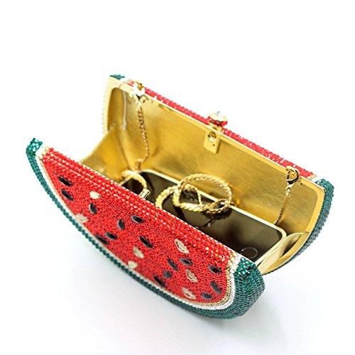 MOGOR, Poschette giorno donna rosso Red medium
