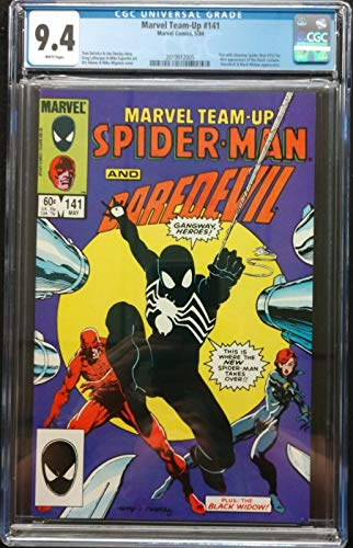 Marvel Team-Up (1972) #141 CGC 9.4 White Pages (2019912005) Black Costume