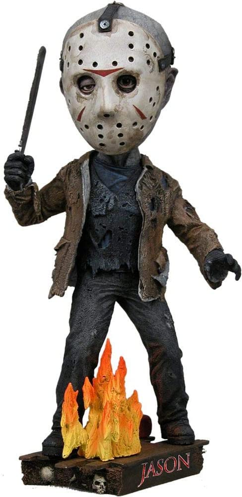 Actionfigur 18 cm Unbekannt Freitag der 13 Head Knocker Wackelkopf Figur Jason Voorhees