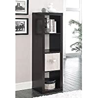 Better Homes and Gardens Furniture 4-Cube Room Organizer Storage Bookcases (Espresso)
