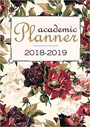 amazon com academic planner 2018 2019 student planner and academic