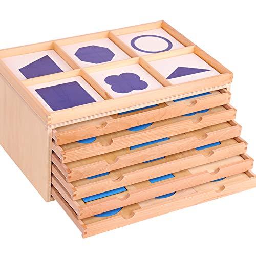 mumoni Montessori Geometric Cabinet