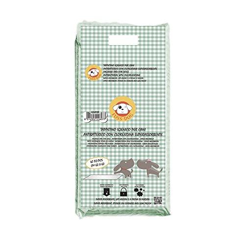 Super Toallitas Higiénicas De Entrenamiento Para Mascotas Clorexidina (60 x 60 cm / 40 pz) Empapadores Antibactérianos Y Absorbentes