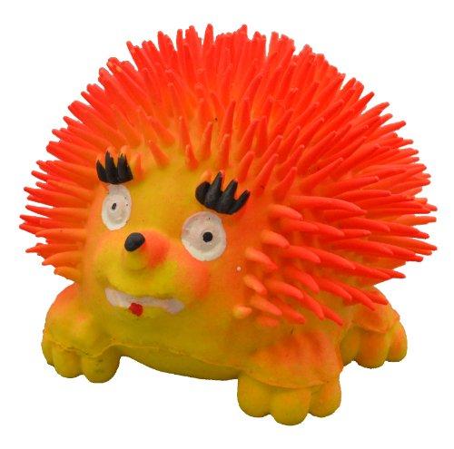 Amazing Pet Products Latex Dog Toy, 3.5-Inch, Super Hedgehog