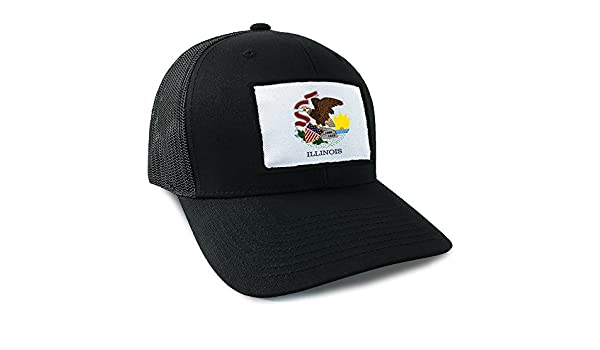 05add8b7e48 Illinois State Flag Hat at Amazon Men s Clothing store