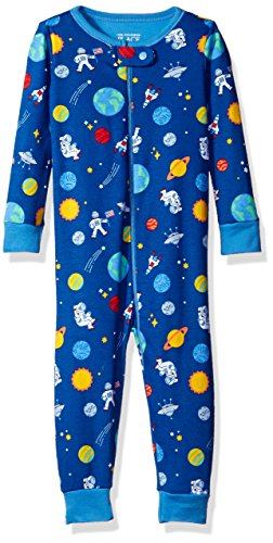 The Children's Place Baby Boys Stretchie Pajamas, Space (Inked), 3-6 Months