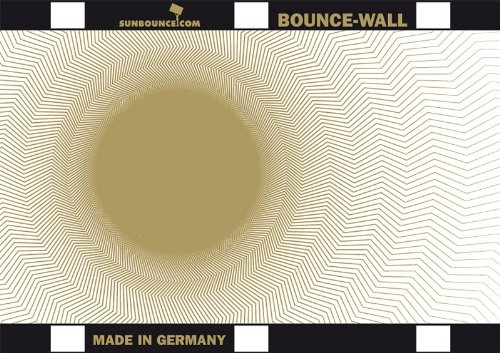 """Sunbounce BOUNCE-WALL Reflector A4 / 8x11"""" - Galaxy Gold/White"""