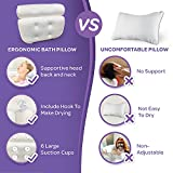 Sierra Concepts Bath Pillow and Loofah Sponge for