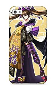 For Iphone 5c Fashion Design Touhou Animal Bird Brownhimekaidou Hatate Japaneseinted Ears Purple Shinebell Thighhighs Touhou Twintails Case-CeSnHBN11833OVtxq